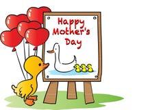 lyckliga mödrar för dag Arkivfoto