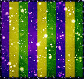 Lyckliga Mardi Grass Background Arkivfoto