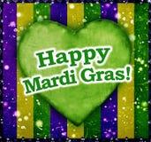 Lyckliga Mardi Grass Background Fotografering för Bildbyråer