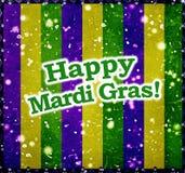 Lyckliga Mardi Grass Background Royaltyfria Bilder