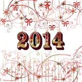 2014 lyckliga nya år Arkivfoton