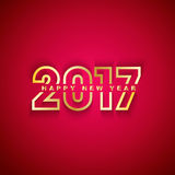 2017 lyckliga nya år Royaltyfria Foton