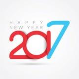 2017 lyckliga nya år Arkivbild