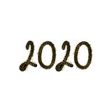 2020 lyckliga nya år Royaltyfria Bilder