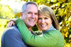 Lyckliga par. Arkivbild