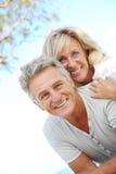 lyckliga par mature fotografering för bildbyråer