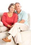 lyckliga pensionärer Arkivfoton