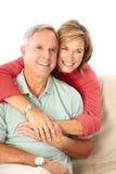 lyckliga pensionärer Royaltyfri Bild