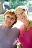 lyckliga pensionärer fotografering för bildbyråer
