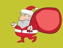 Lyckliga Santa Fotografering för Bildbyråer