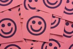 lyckliga smileys Arkivbilder