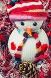 Lyckliga snowmans för jul Royaltyfri Bild
