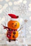 lyckliga snowmen Royaltyfri Fotografi