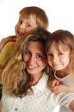 lyckliga tre Fotografering för Bildbyråer