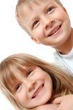 lyckliga ungar för barndom Arkivbild