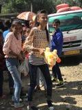 Lyckliga ungar i Indien Royaltyfri Bild