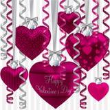 Lyckliga valentin dag! Arkivbild