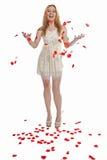 Lyckliga valentin dag Arkivfoto