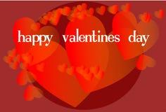 lyckliga Valentine& x27; s Arkivfoto