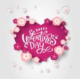 lyckliga valentiner för dag stock illustrationer