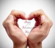 lyckliga valentiner för dag Royaltyfria Foton