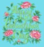 lyckliga valentiner för dag Royaltyfri Bild