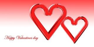 lyckliga valentiner för dag Arkivfoto