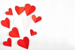 lyckliga valentiner för kortdag Arkivbilder