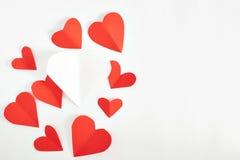 lyckliga valentiner för kortdag Arkivfoton