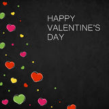 lyckliga valentiner för kortdag Arkivfoto