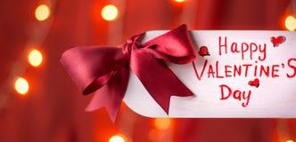lyckliga valentiner för kortdag fotografering för bildbyråer