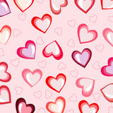 lyckliga valentiner för kortdag vektor Fotografering för Bildbyråer