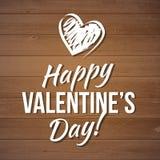 lyckliga valentiner för kortdag vektor reklambladbakgrund med hjärtor Fotografering för Bildbyråer