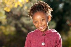 lyckligt afrikansk amerikanbarn Royaltyfria Foton