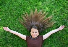 lyckligt barn för barn arkivfoto