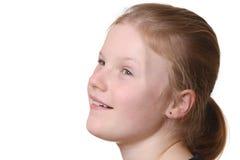lyckligt barn för flicka Arkivbild