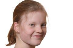 lyckligt barn för flicka Arkivbilder