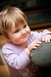 lyckligt barn för flicka Arkivfoto