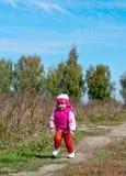 lyckligt barn för flicka Fotografering för Bildbyråer