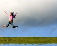 lyckligt barn för härlig flicka Royaltyfri Foto