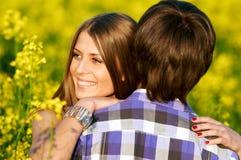 lyckligt barn för par Royaltyfri Fotografi