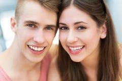 lyckligt barn för par Royaltyfri Foto