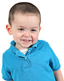 lyckligt barn för pojke Royaltyfria Foton
