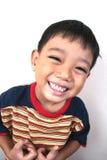 lyckligt barn för pojke Fotografering för Bildbyråer