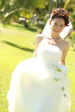 lyckligt bröllop Arkivbild
