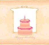 Lyckligt födelsedagkort Royaltyfri Bild