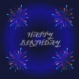 lyckligt födelsedagkort Royaltyfria Foton