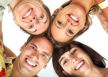 lyckligt folk Arkivfoton