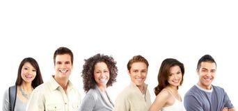 lyckligt folk Arkivfoto