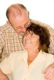 lyckligt gammalt för par Arkivfoton
